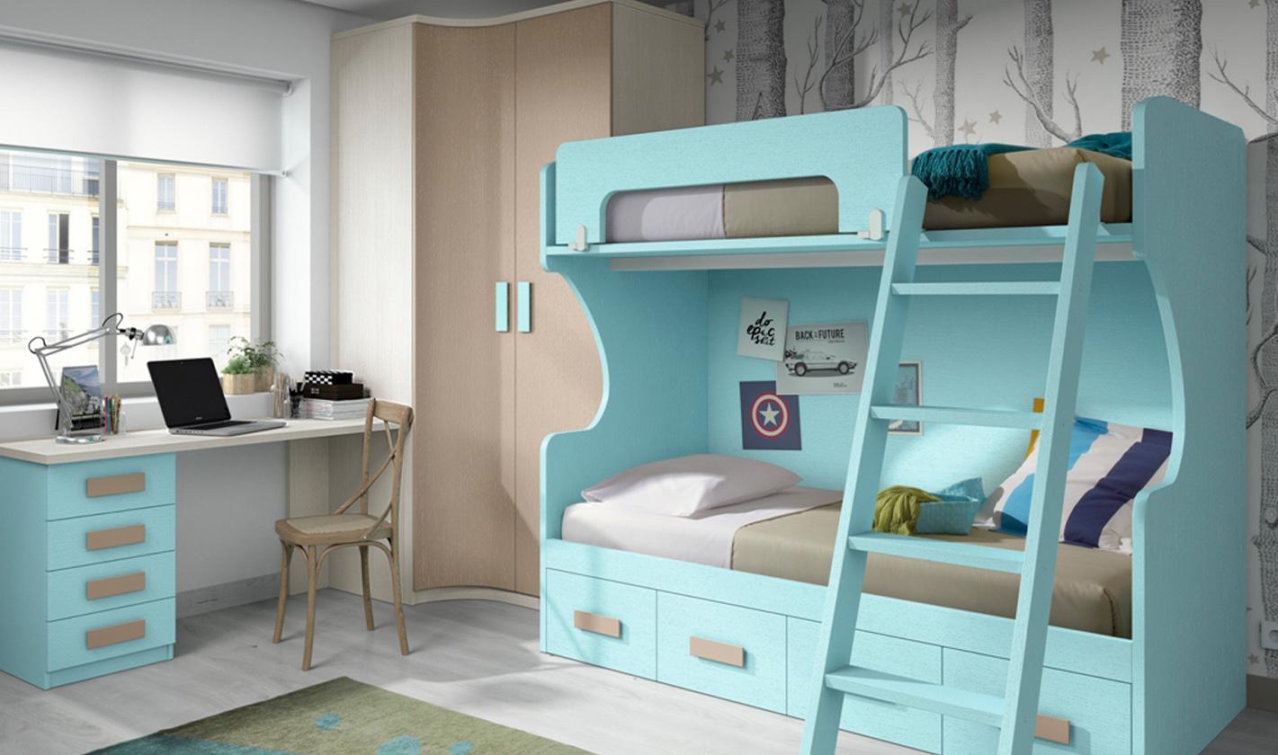 Muebles cintru nigo dormitorio juvenil for Fabricantes muebles dormitorios